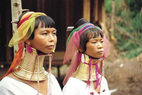 thailand photo Hill tribe,Long Necked Karen